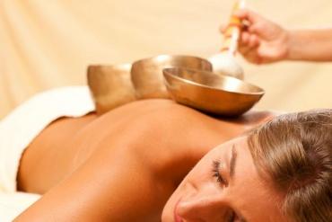 Klangschalen Massage-